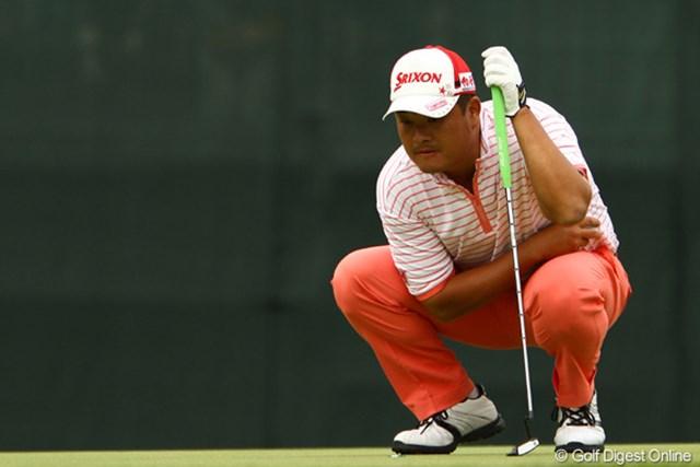 2011年 ダイヤモンドカップゴルフ 初日 小田孔明 小田孔明は2年ぶりの優勝に向け準備万端。「ずっと調子はいい。優勝争いできるゴルフはできている」