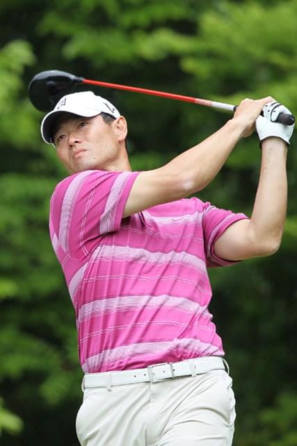 2011年 富士カントリー可児クラブチャレンジカップ 初日 桑田真澄 プロの試合で初ラウンドは23オーバーと苦しんだ桑田真澄