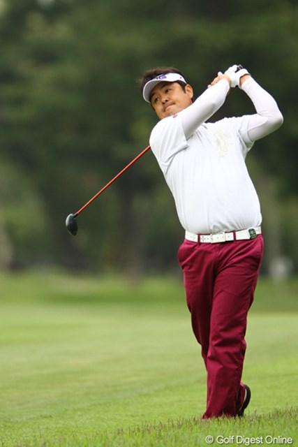 2011年 ダイヤモンドカップゴルフ 初日 井手口正一 予選会通過からの出場ながら、好スタートを切りました