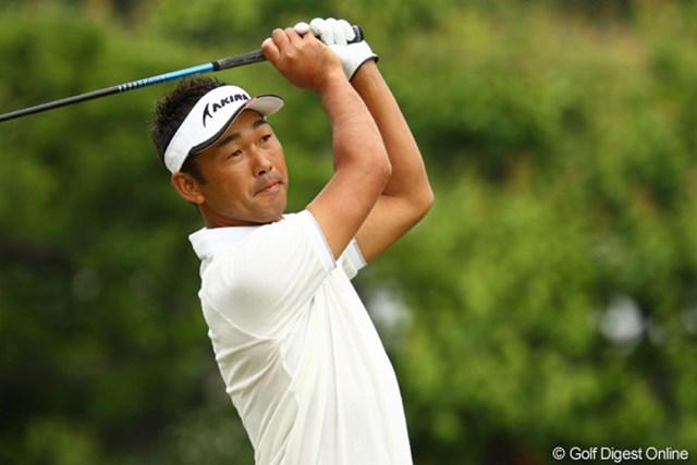 2011年 ダイヤモンドカップゴルフ 初日 久保谷健一 月曜日に行われた予選会で、USオープン出場を決めるなど好調のようです。