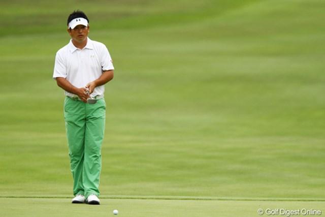 2011年 ダイヤモンドカップゴルフ 初日 増田伸洋 勝手知ったるコースで増田伸洋は2006年以来の勝利を狙っている
