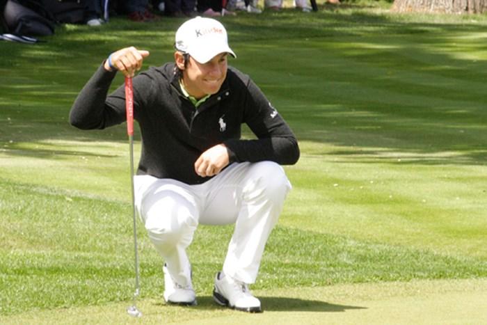 首位とは2打差の5アンダー暫定2位タイにつけたマッテオ・マナッセロ 2011年 BMW PGA選手権 初日 マッテオ・マナッセロ