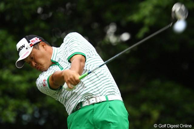 2011年 ダイヤモンドカップゴルフ 2日目 小田孔明 小田孔明は「完璧」というゴルフで2位に2打差をつけて単独首位に浮上