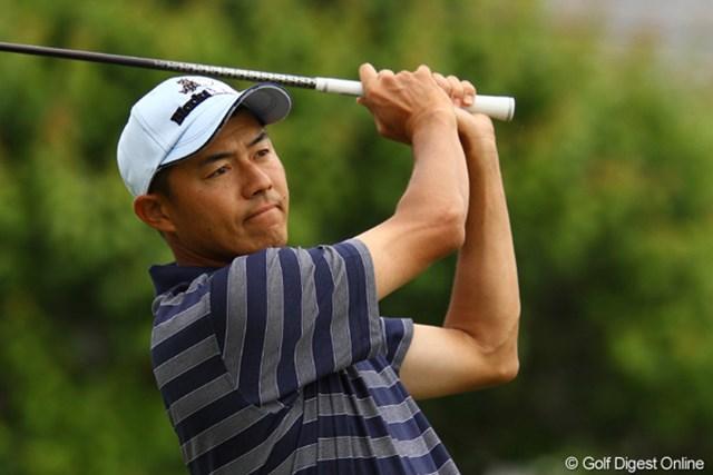 2011年 ダイヤモンドカップゴルフ 2日目 横尾要 ジャンボ尾崎とラウンドした横尾要は同大会5年ぶりの勝利を狙う