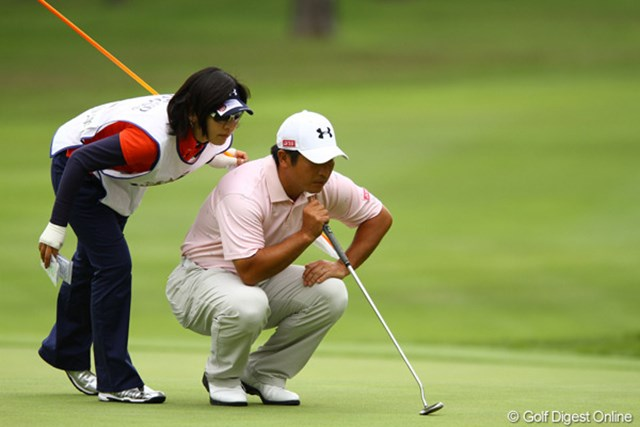 2011年 ダイヤモンドカップゴルフ 2日目 増田伸洋 今日は残念ながらスコアを伸ばせませんでした。首位とは6打差で