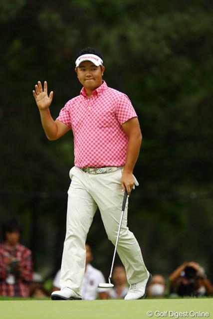 2011年 ダイヤモンドカップゴルフ 2日目 薗田峻輔 2番Par5でイーグルゲット!ノーボギーで7つスコアを伸ばし、完璧なゴルフの一日でした