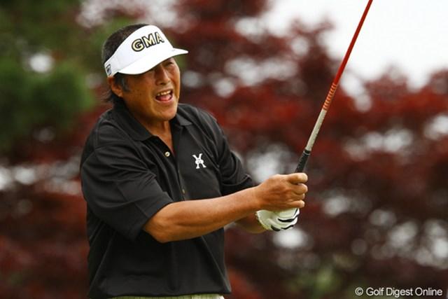 2011年 ダイヤモンドカップゴルフ 2日目 尾崎将司 「どやっ!!」