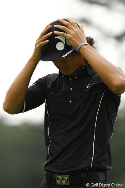 2011年 ダイヤモンドカップゴルフ 2日目 石川遼 昨年の日本プロゴルフ選手権以来、約1年振りの予選落ち。このコースでの予選落ちは、本人もかなりショックだったのでは?