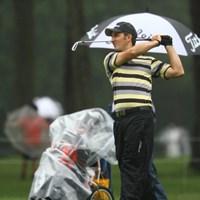 今シーズンから日本ツアーに参戦しています。オーストラリア出身。今日は13番から怒涛の5連続バーディ! 2011年 ダイヤモンドカップゴルフ 3日目 ネベン・ベーシック