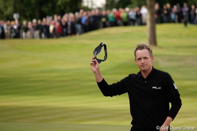 ルーク・ドナルド/BMW PGA選手権3日目 好調を維持しているルーク・ドナルド。世界ランク1位も母国優勝も目前まで迫っている!