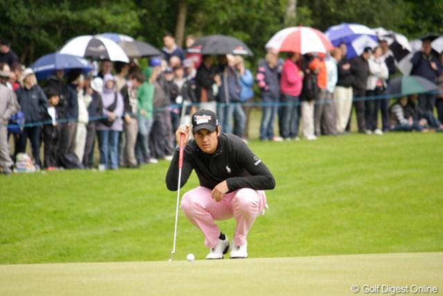 マッテオ・マナッセロ/BMW PGA選手権3日目 若干18歳。もっとアグレッシブに行けば!?という声も聞かれるが、それは若さ故の指摘なのか…
