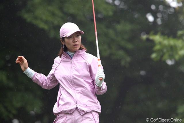 李知姫は首位の座を守りきれず、1打差でタイトルを逃した