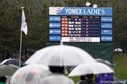 2011年 ヨネックスレディスゴルフトーナメント 最終日 スコアボード
