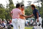 2011年 日本ゴルフツアー選手権 Citibank Cup Shishido Hills 3日目 山下和宏、丸山大輔、小泉洋人