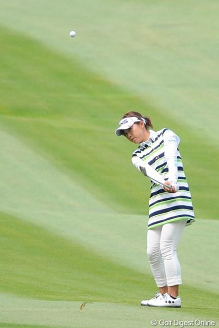 2011年 リゾートトラストレディス 最終日 一ノ瀬優希 今週は堅実なプレーでまとめました。ウェアがとても気になったのでUPです。16位T