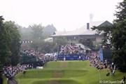 2011年 日本ゴルフツアー選手権 Citibank Cup Shishido Hills 最終日 スタートホール