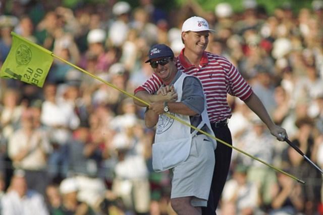 今年の舞台コングレッションで行われた前回大会、1997年のチャンピオンはアーニー・エルスだった(Craig Jones/Getty Images)