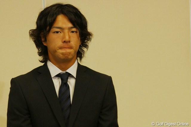 2011年 ホットニュース 全米オープン 石川遼 2度目の全米OPを前に、強いまなざしで意欲を示した石川遼
