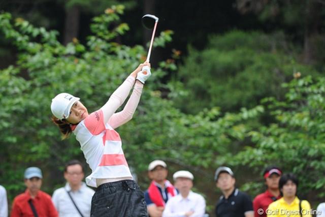 2011年 サントリーレディスオープンゴルフトーナメント 最終日 李知姫 好調な試合が続く李知姫。今週も2位タイに入り「全英」出場資格も獲得した