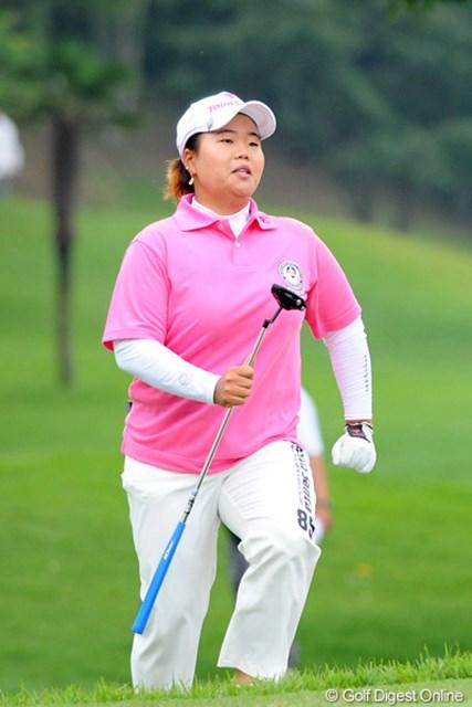 2011年 サントリーレディスオープンゴルフトーナメント 最終日 アン・ソンジュ アンソン優勝オメ~!仲の良いチエゾーとの一騎打ちを制して、賞金女王街道を爆走中!!