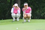 2011年 サントリーレディスオープンゴルフトーナメント 最終日  アン・ソンジュ、有村智恵