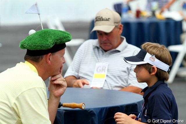 全米オープンの最終日は例年父の日となります。ゴルフ好きのお父さんにはたまらない。