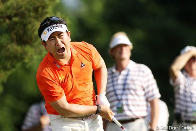 2011年 全米オープン 2日目 Y.E.ヤン マキロイとは6打差だが、単独2位で決勝ラウンドへ。メジャー2勝目を目指す