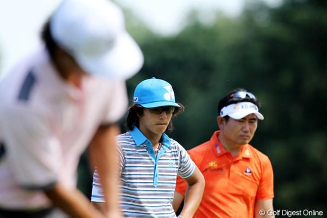 2011年 全米オープン 2日目 石川遼 石川遼、Y.E.ヤン、A.キム。それぞれが持ち味を出した興味深いラウンドとなった