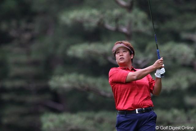 2011年 ニチレイレディス 2日目 表純子 6年ぶりの優勝に向けて首位と3打差5位タイに浮上した表純子