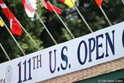 2011年 全米オープン 3日目 全米オープンのボード