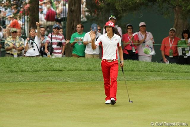 2011年 全米オープン 最終日 石川遼 最終日に3ストローク伸ばし、昨年を上回る30位タイで終えた石川遼