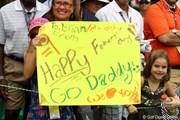 2011年 全米オープン 最終日 父の日