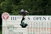 2011年 全米オープン 最終日 TVカメラ