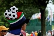 2011年 全米オープン 最終日 サッカーファン?