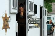 2011年 ウェグマンズLPGAチャンピオンシップ 2日目 警察馬