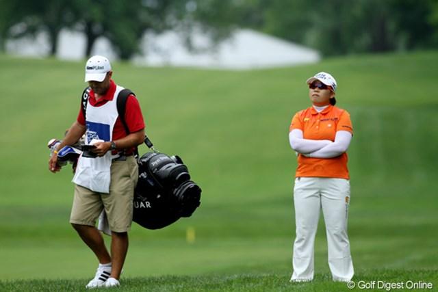 2日目は-1でラウンド。なんとか予選を通過したたが、不本意なゴルフが続く