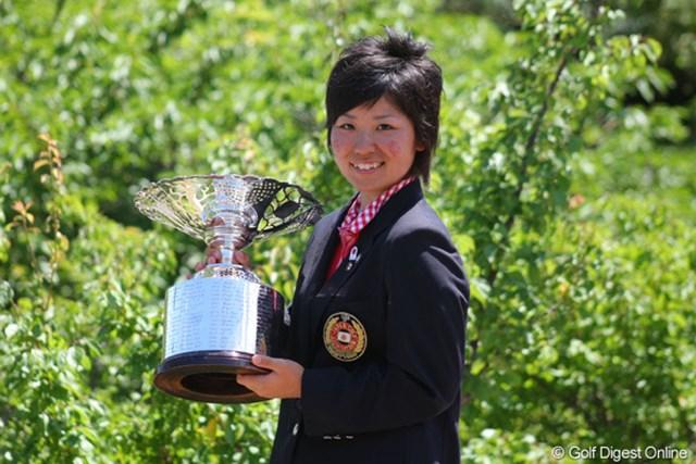 「優勝しか狙っていなかった」と語った比嘉真美子が悲願のタイトルを獲得した