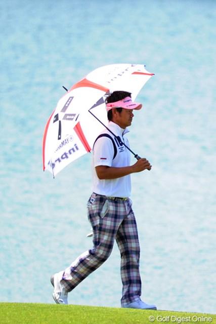 2011年 ~全英への道~ミズノオープン 3日目 藤田寛之 日本勢の2番手につけたのは、猛暑にもかかわらず、アラフォーの藤田君。若手、中堅はどないしたんや!!6位T