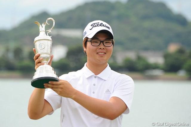 注目された最終組を尻目にツアー初優勝を果たしたハン・ジュンゴン