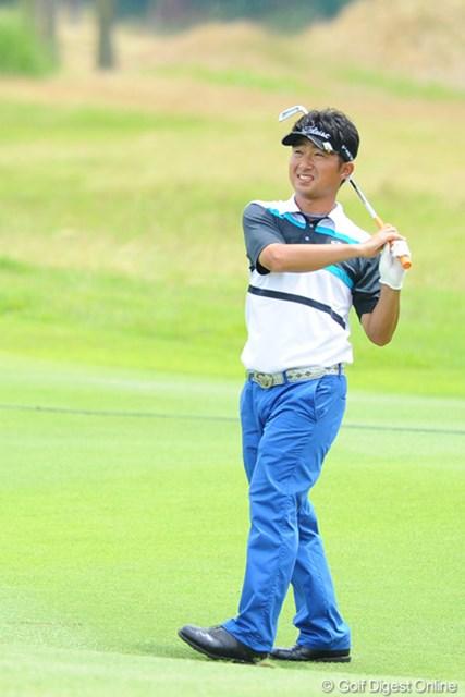 今週は安定してました。同組の優作を見ていた優作パパが「弘大は良いゴルフしてるなァ」と、おっしゃってました。10位T