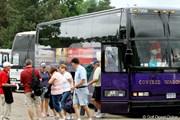 2011年 ウェグマンズLPGAチャンピオンシップ 最終日 ギャラリーバス