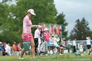 2011年 ウェグマンズLPGAチャンピオンシップ 最終日 有村智恵