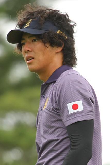 2011年 ミリオンヤードカップ 事前 石川遼  左袖には日の丸