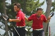 2011年 韓日プロゴルフ対抗戦 ミリオンヤードカップ 2日目 片山晋呉、池田勇太