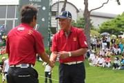 2011年 韓日プロゴルフ対抗戦 ミリオンヤードカップ 2日目 青木功