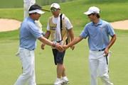 2011年 韓日プロゴルフ対抗戦 ミリオンヤードカップ 2日目 Y.E.ヤン、キム・キョンテ