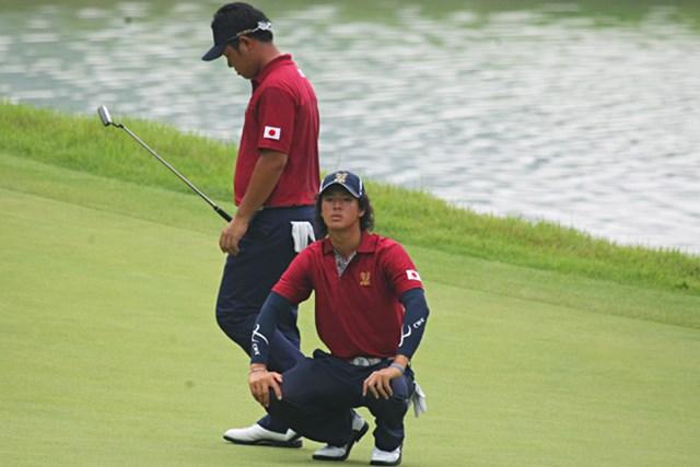 石川遼&薗田峻輔組は2連敗。最終日での巻き返しを図る