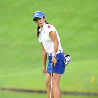 いや~危なかった!昨日の貯金をぜ~んぶ吐き出してしもたからなァ・・・。45位タイとギリギリで予選通過。一応オメ! 2011年 日医工女子オープンゴルフトーナメント 2日目 久保啓子