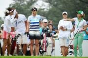 2011年 日医工女子オープンゴルフトーナメント 2日目 九州3人娘