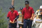 2011年 韓日プロゴルフ対抗戦 ミリオンヤードカップ 2日目 石川遼、薗田峻輔